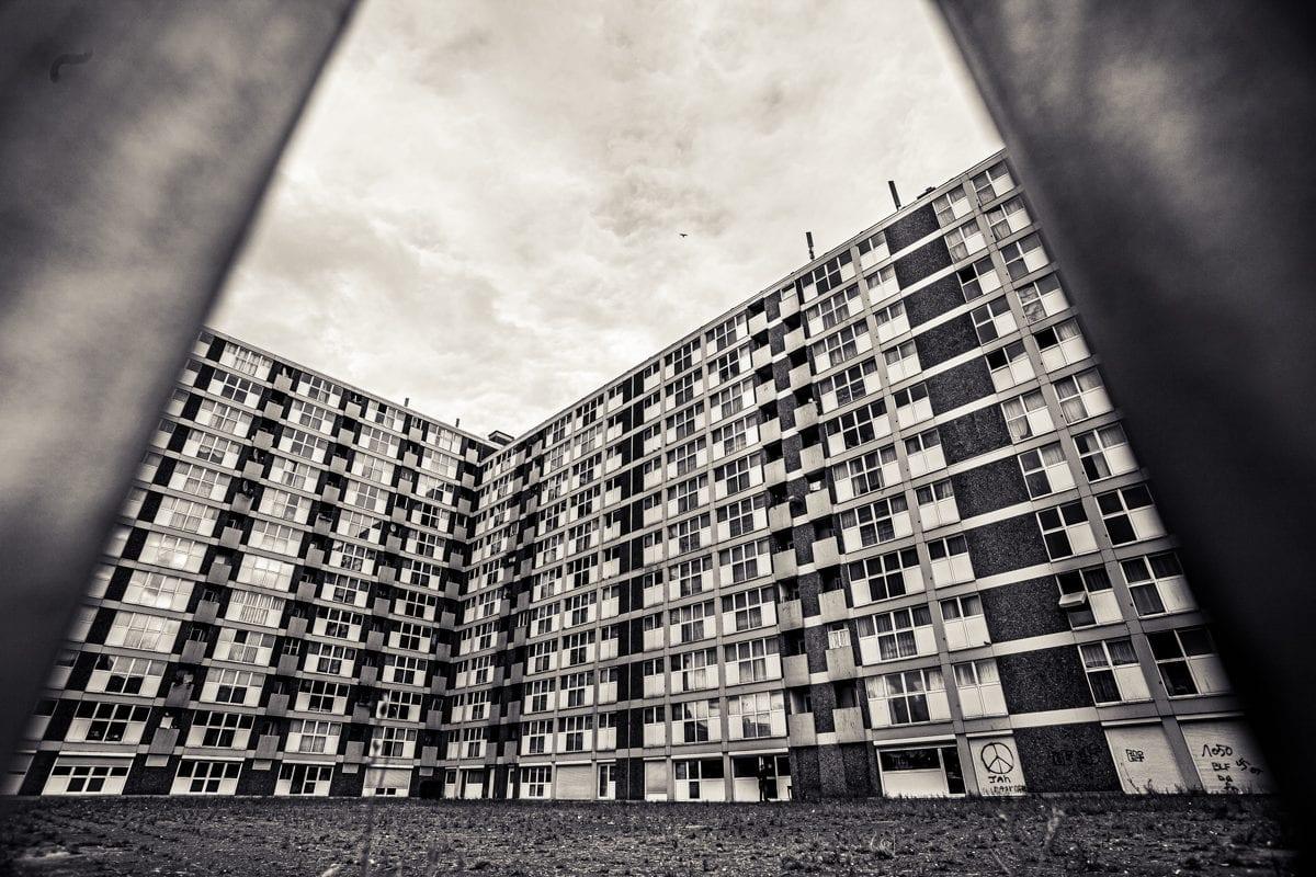 Building Quartier Anneessens à Bruxelles