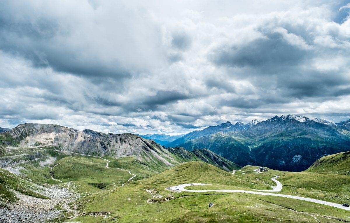 Paysage du Großglockner (Grossglockner) en Autriche