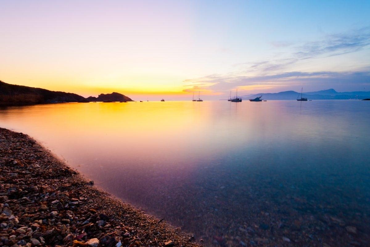 Cette image a été réalisé sur la presqu'île de Giens. Quel spectacle magnifique !