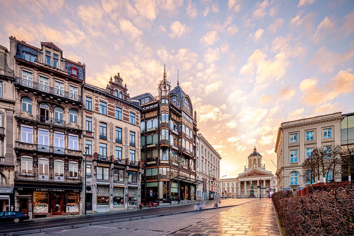 Mont des Arts Bruxelles Belgique